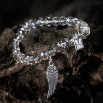 Sparkling Clear White - Angel Wing