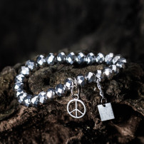 Sparkling Silver - Peace