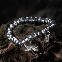 Sparkling Silver - Dragon Fly