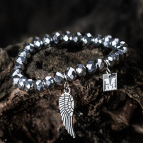 Sparkling Silver - Angel Wing