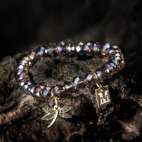 Sparkling beige/silver - Dragonfly